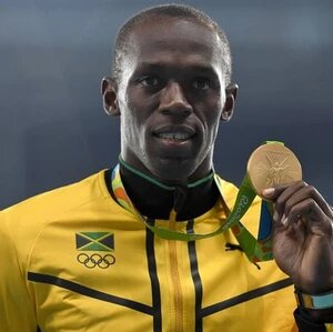 Usain St Leo Bolt, OJ, CD is a Jamaican former sprinter and widely considered to be the greatest sprinter of all time.