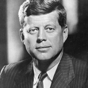 John Fitzgerald Kennedy, often referred to by his initials JFK or by his nickname Jack, was an American politician who served as the 35th president of the United States from January 1961 until his assassination in November 1963.