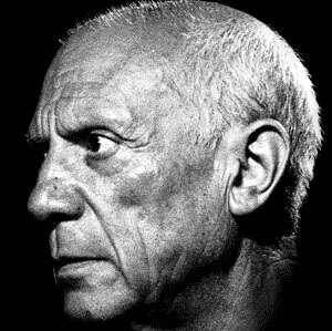 Pablo Ruiz Picasso was a Spanish painter, sculptor, printmaker, ceramicist and theatre designer who spent most of his adult life in France.