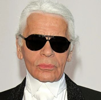 Karl Lagerfeld was a German creative director, fashion designer, artist, photographer, and caricaturist who lived in Paris.