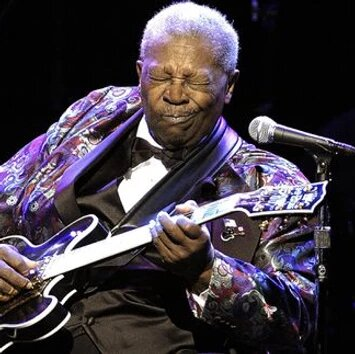 Riley B. King, known professionally as B.B. King, was an American singer-songwriter, guitarist, and record producer. King introduced a sophisticated style of soloing based on fluid string bending and shimmering vibrato that influenced many later blues electric guitar players.