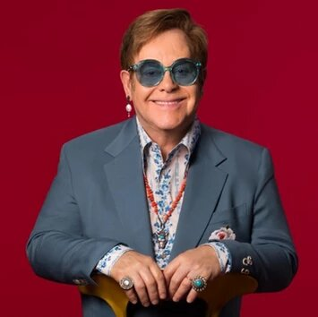 Sir Elton Hercules John CH CBE is an English singer, songwriter, pianist, and composer. Collaborating with lyricist Bernie Taupin since 1967 on more than 30 albums.