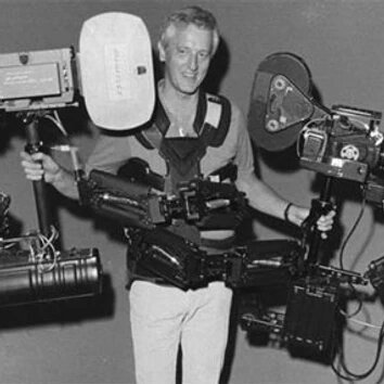 Garrett Brown is an American inventor, best known as the creator of the Steadicam. Brown's invention allows camera operators to film while walking without the normal shaking of handheld.